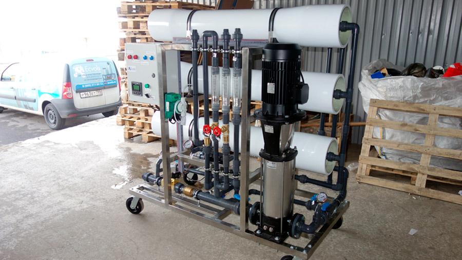 Обратноосмотические системы очистки воды